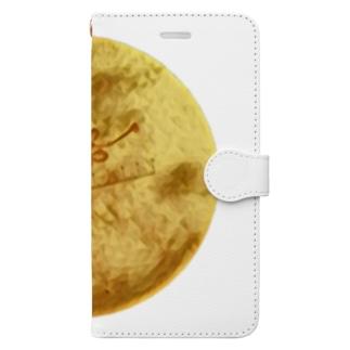 アカムシの唾腺染色体 Book-style smartphone case