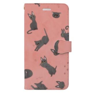 おさんぽキューちゃん Book-style smartphone case