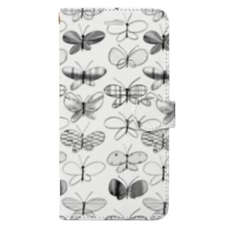 KAERUCAFE SHOPの蝶 Book-style smartphone case