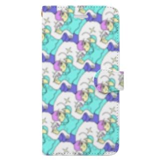 KAERUCAFE SHOPのゴリラと飼育員 Book-style smartphone case