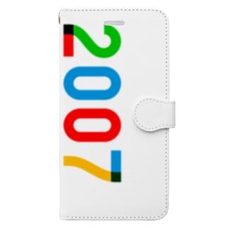 marikiroの2007_西暦 Book-style smartphone case