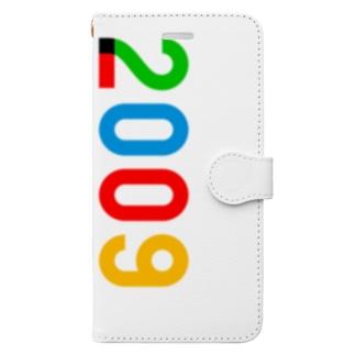 marikiroの2009_西暦 Book-style smartphone case