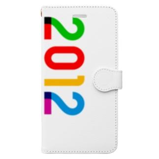 marikiroの2012_西暦 Book-style smartphone case