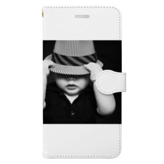Juli Meerのベビー Book-style smartphone case