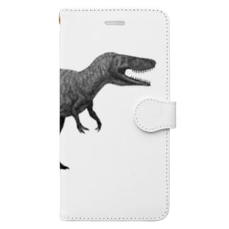 どぶりのトルヴォサウルス Book-style smartphone case