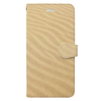 鳥取砂丘の砂紋 Book-style smartphone case