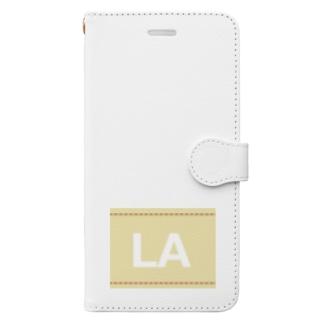 アメリカンベースのLA Book-style smartphone case