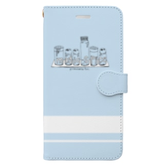magic spice 手帳型スマホケース Light Blue Book-style smartphone case