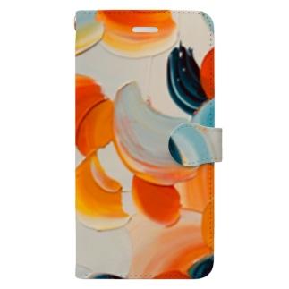 バレンシアの橙 Book-style smartphone case