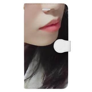 寝る前の彼女 Book-style smartphone case