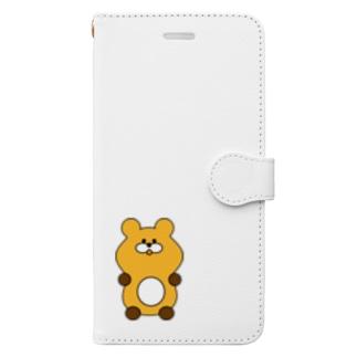 これは よい くま Book-style smartphone case