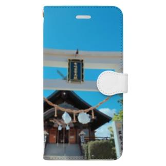 ホノルル出雲大社 Book-style smartphone case