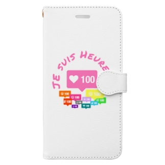 人望 厚美 Book-style smartphone case