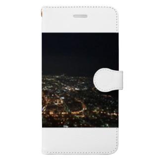 夜景 Book-style smartphone case