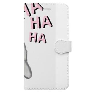 キビ Book-style smartphone case