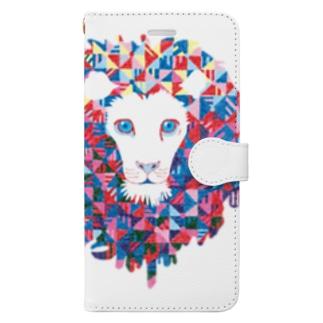 幾何学大帝 Book-style smartphone case
