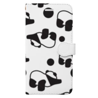 ぱおんなパンダ Book-style smartphone case