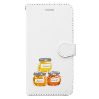 ジャム Book-style smartphone case