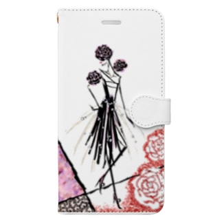 【Rose noble lady🌹】~薔薇の貴婦人~ Book-style smartphone case