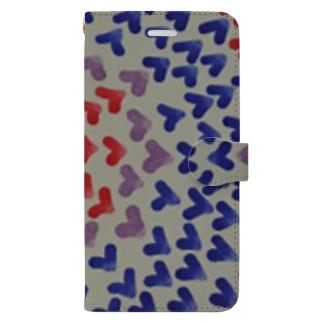 らぶラブらぶラブ Book-style smartphone case
