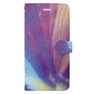 SnowFlower Book-style smartphone case