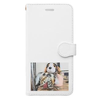 イヌイヌ Book-style smartphone case