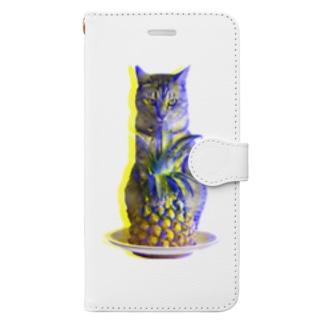 ほごにゃんパイにゃポー2020・夏 Book-style smartphone case