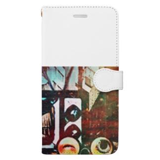 ジゴクTV Book-style smartphone case