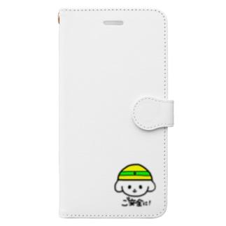 ご安全に‼︎ Book-style smartphone case