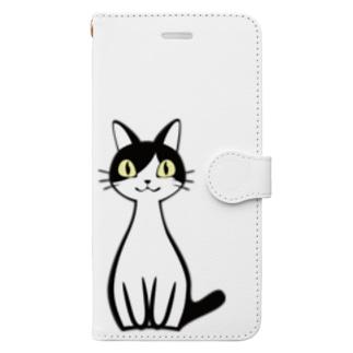 えっへん!ジャッキー社長 Book-style smartphone case