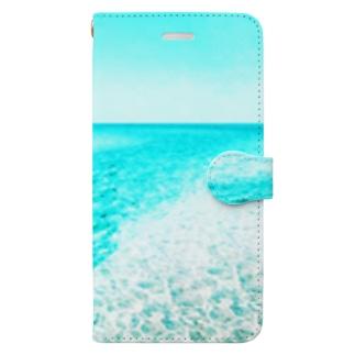 台南の海 Book-style smartphone case