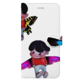 3人の妖精 Book-Style Smartphone Case