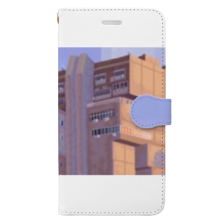 Old power plant Book-style smartphone case