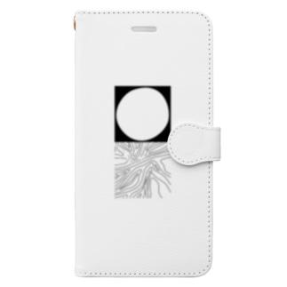 月とyuragi Book-Style Smartphone Case