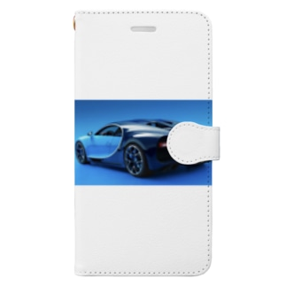 ブガッティ・シロン Book-style smartphone case