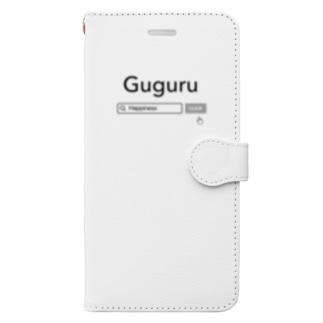 ググる Book-style smartphone case