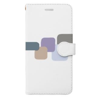 スクエアブロック Book-style smartphone case