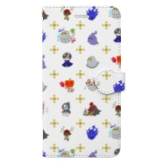 ゾワゾワ洋ゆーれい Book-style smartphone case