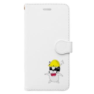解体屋まろん〜怒られて焦る編〜 Book-style smartphone case