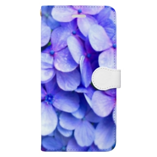 Hydrangea Book-style smartphone case