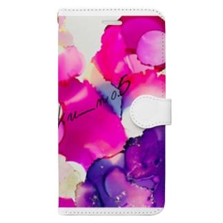 ビビッドカラー Book-style smartphone case