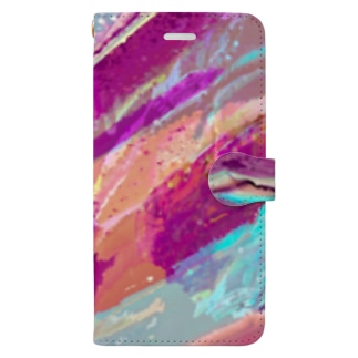 波 Book-style smartphone case