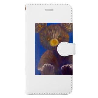 テディベア Book-style smartphone case
