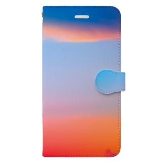 ひのまる弁当グアムの赤富士初夢一富士 Book-style smartphone case