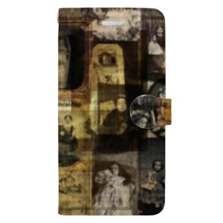 記憶の断片 Book-style smartphone case