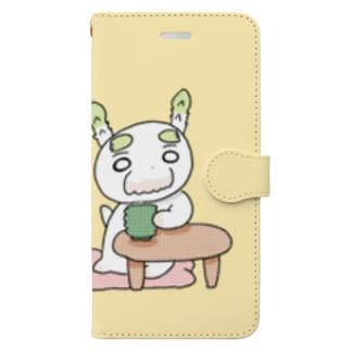 ぱらおせんにんの『ぱ』 Book-style smartphone case