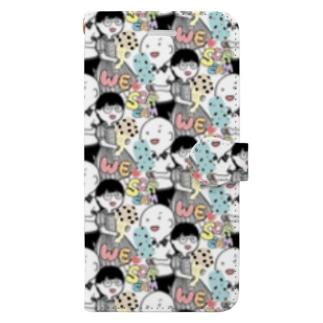 うぃーすくりーむ Book-style smartphone case