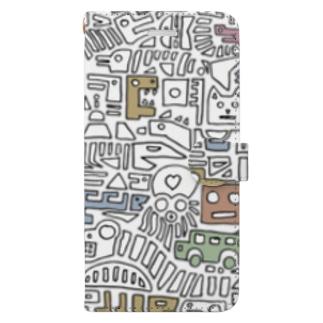hekiga Book-style smartphone case