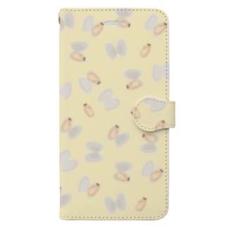 アサリの酒蒸し Book-style smartphone case
