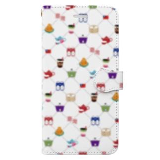 台湾モノグラム Book-style smartphone case